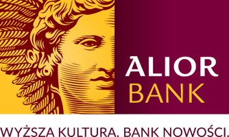 Alior Bank logo.