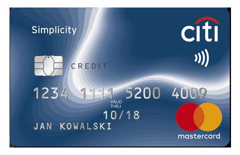Karta kredytowa simplicity.