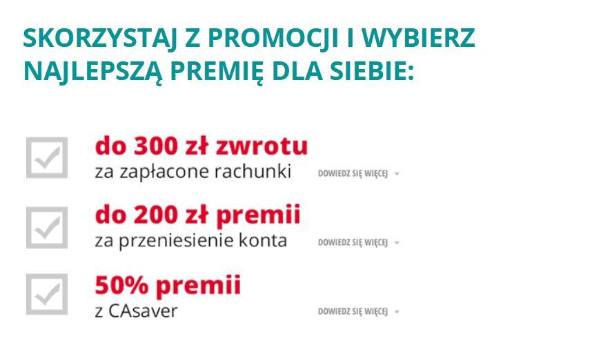 Promocje Credit Agricole.