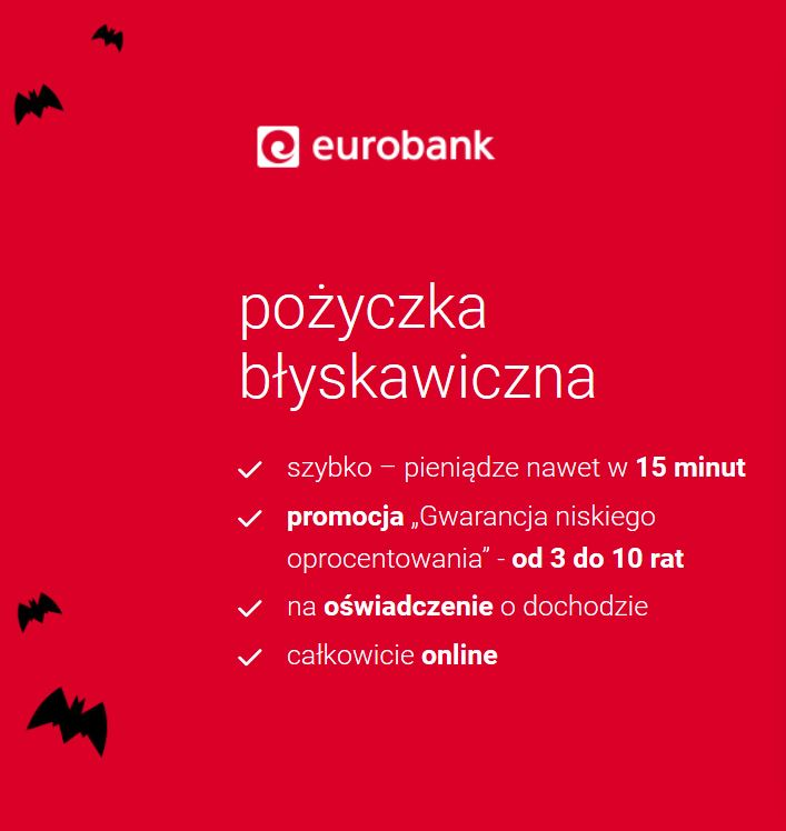 eurobank pożyczka błyskawiczna