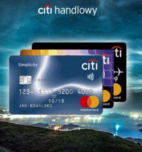 city handlowy karty kredytowe