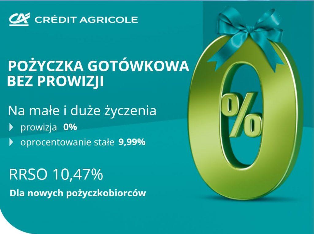 Credit Agricole promocja