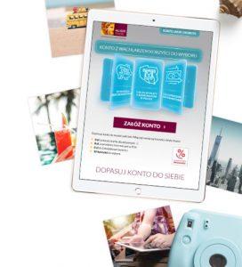 Alior Bank konto tablet