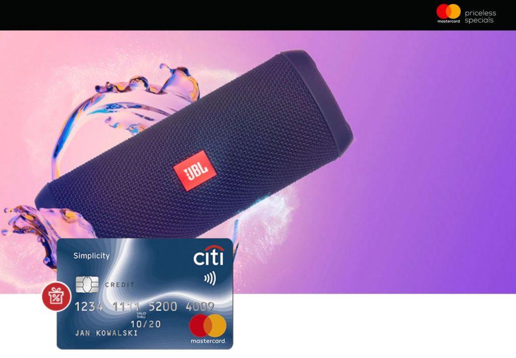 Karta Kredytowa City Handlowy z Głośnikiem JBL