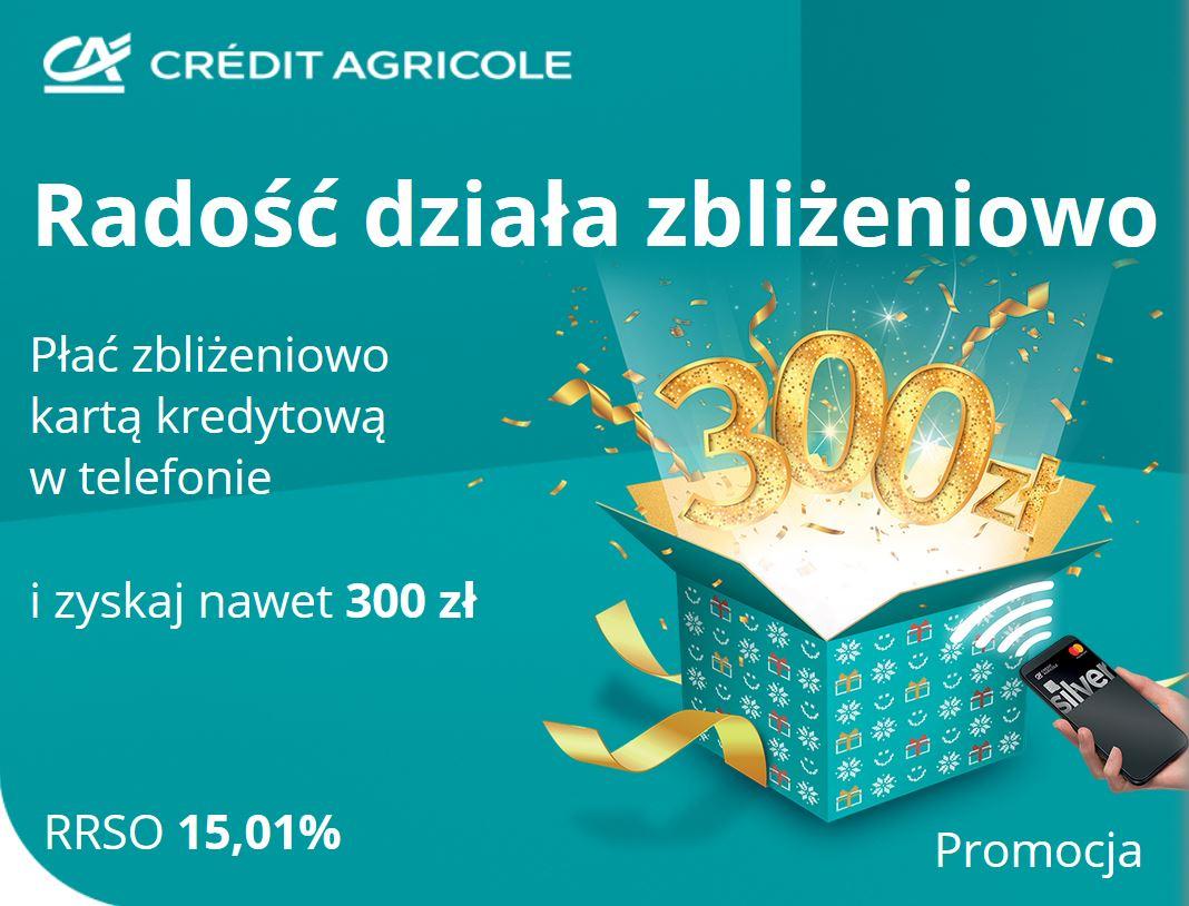 Credit Agricole Karta Kredytowa Promocja